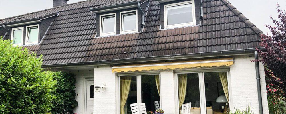 Vermietet! Doppelhaushälfte im Zentrum von Ganderkesee